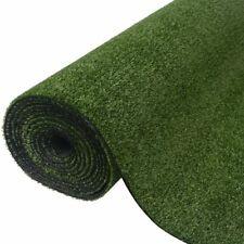 vidaXL Artificial Grass 1x20m/7-9mm Green Synthetic Fake Lawn Turf Mat Garden
