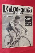 Rivista Sportiva IL CALCIO e il CICLISMO ILLUSTRATO Anno 1961 N°27 BRUGNAMI