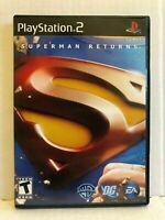 Superman Returns: The Video Game (Sony PlayStation 2, 2006) CIB PS2