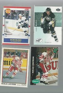 LIDSTROM NHL ROOKIE & CARDS OF INTEREST ALL NM ITEM 3