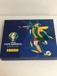 Panini CONMEBOL Copa América Brasil 2019 Complete Set + Hardcover + Box Premium