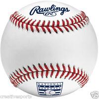 1/2 DOZEN RAWLINGS OFFICIAL BASEBALL HALL OF FAME HOF MLB BASEBALL MANFRED
