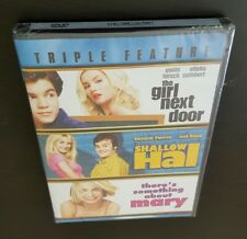 The Girl Next Door, Shallow Hal, There's Something About Mary (DVD) Triple NEW