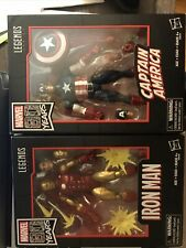 Marvel Legends 80 Years Captain America And Iron Man