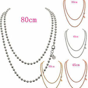 Silver, Rose, Gold Necklace/Chains FOR Mi Moneda/Pendants/Floating Locket/Keeper