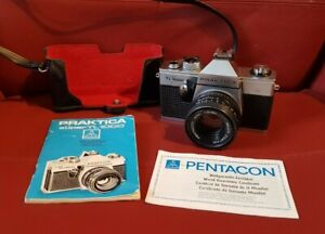 Praktica Super TL1000 35mm SLR Camera w/ Pentacon auto 1.8/50 Multi Coating Lens