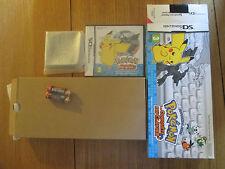 Pokémon à la Conquête du Clavier ~~ Jeu DS et Accessoire Comme Neuf