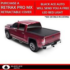 Retrax PRO MX Retractable Tonneau Cover for GM Silverado/Sierra 8' Bed 2014-2019