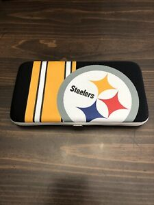 Pittsburgh Steelers Women Shell Mesh Wallet NFL Authentic NEW