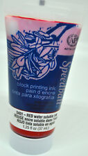 SPEEDBALL® WATER SOLUBLE INK - RED, 1.25 LIQUID OZ