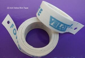 Pair- Velox Cloth Rim Tapes 17 or 22mm Wide NEW 2 wheels 700c, ATB, 29er or BMX