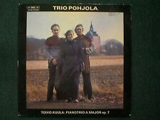 Toivo Kuula: Pianotrio A Major op. 7 Trio Pohjola~RARE 1976 Classical~Sweden