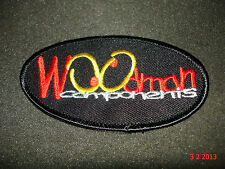 1 AUTHENTIC WOODMAN COMPONENTS PROMOTIONAL PATCH / STICKER