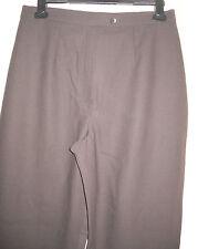 WOMENS Marks & Spencer Brown Formal Straight Leg Trouser  Size :16/44(WT95)
