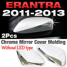 Chrome Side Mirror Cover Garnish Molding Trim B723 For HYUNDAI 2011-2013 Elantra