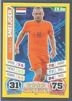 TOPPS MATCH ATTAX  BRAZIL 2014 WORLD CUP- #176-HOLLAND-WESLEY SNEIJDER