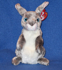 TY HOPPER the BUNNY BEANIE BABY - MINT with MINT TAGS