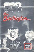 1933--CHICAGO, BURLINGTON & QUINCY R.R.--SOUVENIR-CHICAGO EXPOSITION--BKLET-XLNT