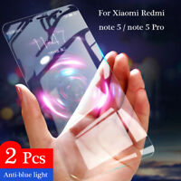 2X Xiaomi Redmi Note 5 Pro/5S/5A 6D Full Cover Tempered Glass Screen Protector d
