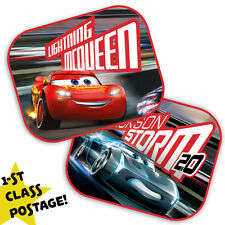 Paquete De 2 Original Disney Cars S coche ventana sombrillas visera de malla Niños Niños