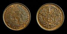 Netherlands - 1/2 Cent 1940 deels originele muntkleur
