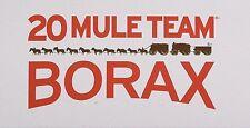 - 4 Oz. -  20 MULE TEAM BORAX NATURAL LAUNDRY BOOSTER Sodium Tetra borate 1/4 lb