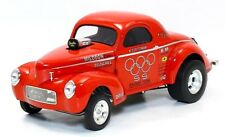 ACME 1:18 S S Racing Team 1941 Gasser Diecast Model Car Red A1800908