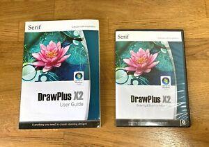 Serif Drawplus X2  software. User guide, program CD and resource CD
