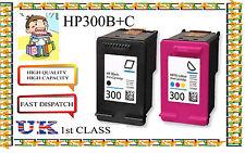 Remanufactured 300b & 300c haute capacité cartouches jet d'encre & de qualité pour imprimante HP