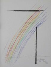 Man Ray - Invasion de l'espace, Lithographie (1975) Numéro 45, monogrammée