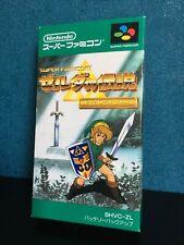 The Legend of Zelda : A Link to the Past - Super Famicom - JAP - Super Nintendo
