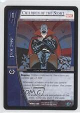 2005 Vs System Marvel Knights #Mmk-166 Children of the Night Gaming Card 3v2