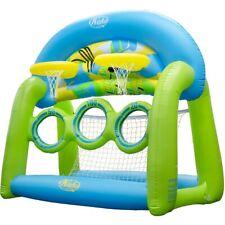 Wahu Skim 'n' Hoop/2 Basketball Water Polo/Pool Football/Soccer or Skim Ball