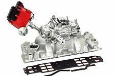 Quick Fuel Slayer 600 CFM Carburetor w/ SBC Intake, Distributor & Gaskets Chevy