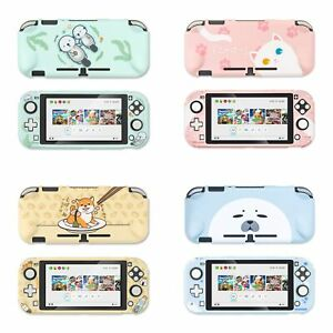 Kawaii Snap on Hard Case Cover for Nintendo Switch Lite Cute Cat Penguin Dog