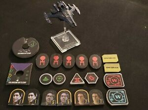 Star Trek Attack Wing (WizKids) 4th Division Battleship Expansion (used)