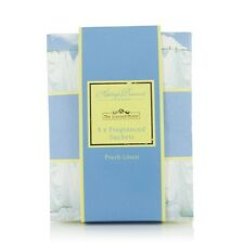 Ashleigh & Burwood 6 x Fragranced Scented Sachets Fresh Linen Floral Scent Packs