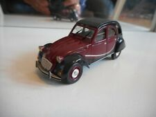 Norev Citroen 2CV6 in Red/Black on 1:43