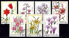Hungary - 1985 Flowers - Mi. 3788-94 VFU