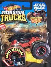 2019 Hot Wheels DARTH VADER Monster Truck Star Wars Package Damaged