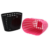 Bicycle Basket Children Bike Tricycle Scooter Supplies Handlebar Carrier Outd MF