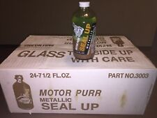Motor Purr Metallic Radiator Seal Up Case of 24 Bottles, With Accessories