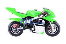 Free Shipping Kids 40Cc 4 Stroke Mini Bike Gas Motor Superbike Green H Db40A