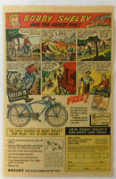 1950 Bobby SHELBY bicycle ad page ~ THE FOREST FIRE