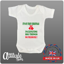 Christmas Baby Grows-Funny Baby Grows-My First Christmas-Fun Xmas Baby Clothes