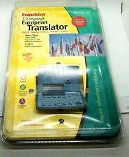 Franklin 5 Language European Translator TWE-118CSC German French Italian Spanish