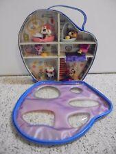 Littlest Pet Shop LPS Pets 2688 2697 3124 3235 3289 Blue Carrying Case Bed Tub