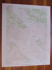 Lonoak California 1973 Original Vintage Usgs Topo Map