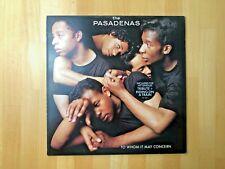 The Pasadenas - To Whom It May Concern - Vinyl LP -1988