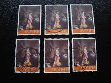 IRLANDE - timbre yvert et tellier n° 458 x6 obl (A32) stamp ireland (A)